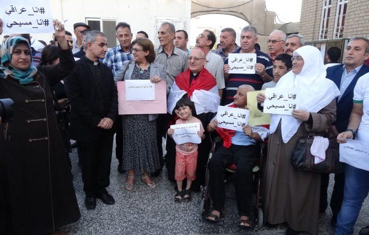 Iraq, un gruppo di musulmani difende i cristiani…….
