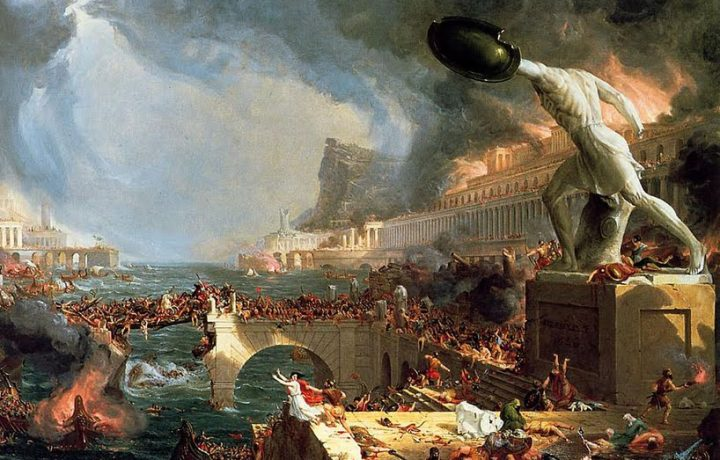 Finiremo come l'Impero Romano?