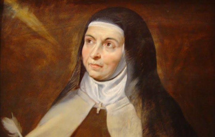 Durante le visioni, Gesù cosa diceva a Santa Teresa?