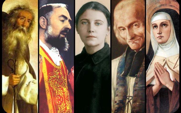 La storia straordinaria di 5 santi che hanno lottato contro i demoni.