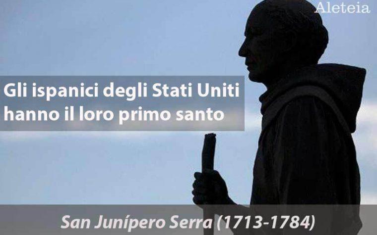 Junípero Serra, il santo che difese i nativi americani dai soprusi.
