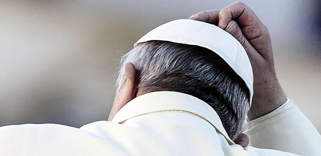 Papa, preoccupati per sua salute o per quello che sta facendo?