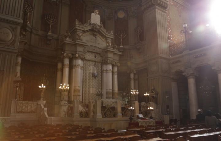Vi racconto la sinagoga di Roma…