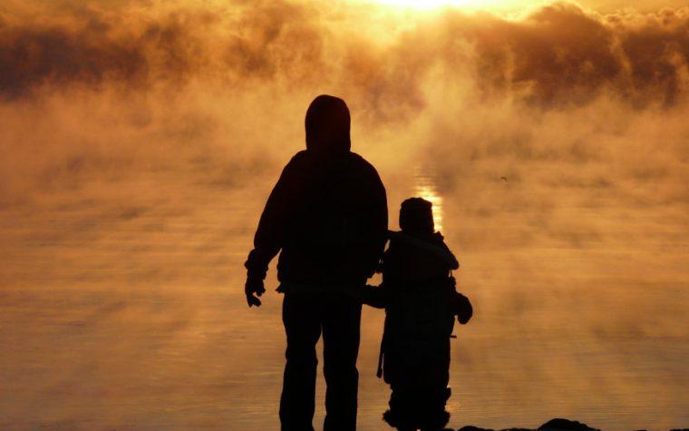 Un papà spiega il Paradiso a suo figlio