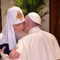 Dichiarazione comune di Papa Francesco e del Patriarca Kirill