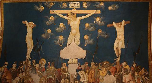 Perchè il simbolo del cristianesimo è la croce e non il Risorto?