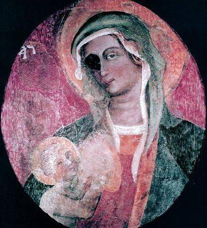 La storia della Vergine dall'occhio nero