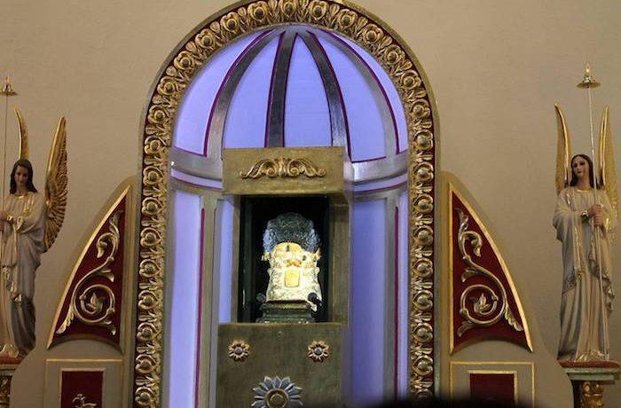Il santuario in cui Gesù è rimasto impresso su una pietra