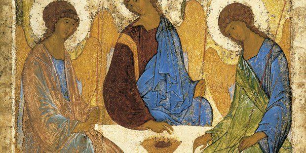L'icona russa che rivela il mistero della Trinità