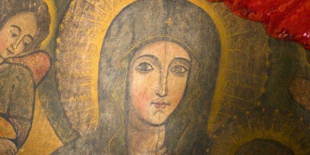 «Quando il cielo baciò la terra nacque Maria»